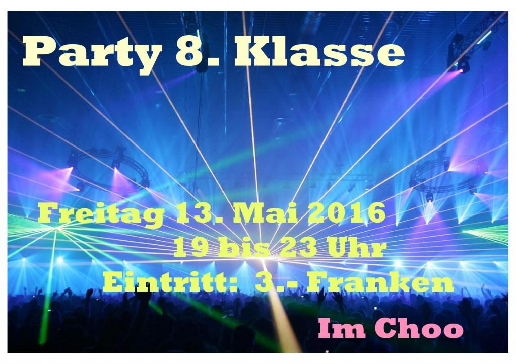 Party 8Klasse1305
